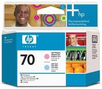 Набор печатающих головок HP 70 Light /Light (C9405A)