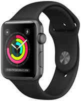 Умные часы Apple Watch S3 42mm Space Aluminum Case with