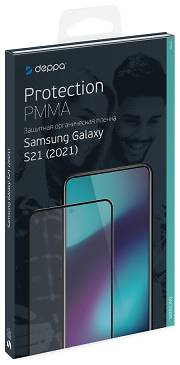 Защитная пленка Deppa 3D PMMA для Galaxy S21