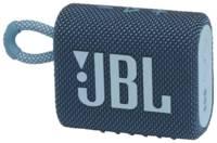 Колонка портативная JBL GO 3, синяя