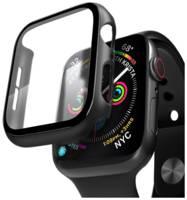 Защитный кейс со стеклом Deppa для Apple Watch 4/5 series, 44 мм (черный)