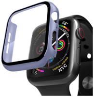 Защитный кейс со стеклом Deppa для Apple Watch 4/5 series, 40 мм (лавандовый)