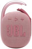 Колонка портативная JBL Clip 4, розовая