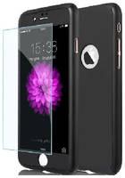 Apple Защитная пленка для iPhone 7 Plus/8 Plus 2 в1 противоударная