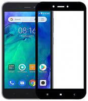 Защитное стекло для Xiaomi RedMi Go полноэкранное чёрное