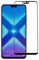 Защитное стекло для Huawei Honor 9X Lite полноэкранное черное в техпаке