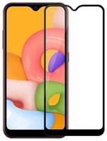 Защитное стекло для Samsung Galaxy A 01 Cabal полноэкранное черное