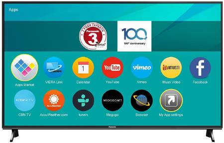 Телевизор Panasonic TX-65FXR600 (65″, 4K, Direct LED, DVB-T2/C/S2, Smart TV)