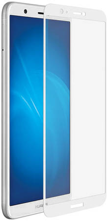 Защитное стекло FUNC для Huawei P Smart White DF HWCOLOR-37 (WHITE)
