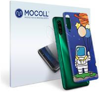 Пленка защитная MOCOLL для задней панели Meizu M8 Рисунок космонавт