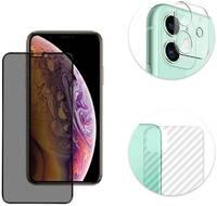 GCR Комплект защитных стекол 3 в1 для iPhone 11 GCR-GLASS-K