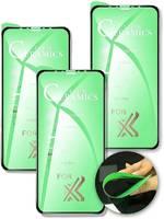 QVATRA Гибкое защитное стекло Ceramics для Apple iphone Xr 3шт /9D