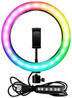Кольцевая лампа Ring Light RGB Led 26cm (без штатива)