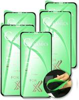 QVATRA Гибкое защитное стекло Ceramics для Apple iphone Xr/КОМПЛЕКТ 5шт /9D