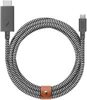 Кабель Native Union USB Type-C to HDMI 3м White/Black