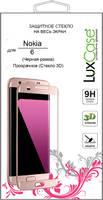 Защитное стекло LuxCase для Nokia 6 Black