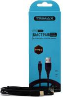 Кабель Trimax Type-C T11C 1m Black