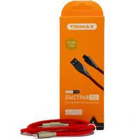 Кабель Trimax Micro-USB T1M 1m Red