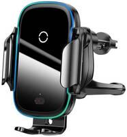 Автодержатель с беспроводной зарядкой Baseus Light Electric Holder Wireless Charger