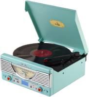 Проигрыватель виниловых пластинок Playbox Chicago PB-103U-CG Turquoise