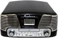 Проигрыватель виниловых пластинок Playbox Montreux PB-106D-BK