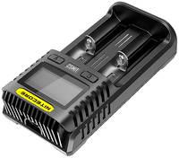 Зарядное устройство Nitecore UMS2 18650/16340 UMS2 18650/16340 на 2*АКБ