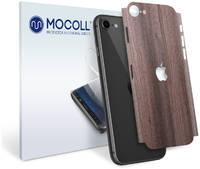 Пленка защитная MOCOLL для задней панели Apple iPhone 7 Дерево Вишня Кинстон