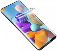 Гидрогелевая защитная пленка Rock для Samsung Galaxy A21s (Прозрачная)