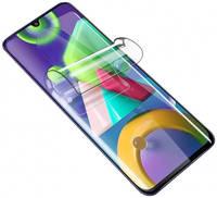 Гидрогелевая защитная плёнка Rock для Samsung Galaxy M21 (Прозрачная)