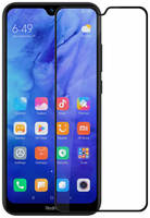 Epik Защитное стекло 5D Full Cover для Xiaomi Redmi Note 8T (Черный)