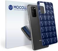 Пленка защитная MOCOLL для задней панели Honor 8A Pro Кошачий глаз синий