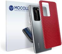 Пленка защитная MOCOLL для задней панели HUAWEI P Smart Z Карбон красный