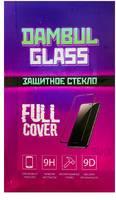Защитное стекло Dambul Glass для Apple iPhone SE (черное)