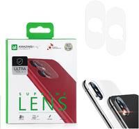 Защитное стекло для камеры Apple iPhone X / XS Amazingthing SupremeLens Ultra 0.33mm 2шт