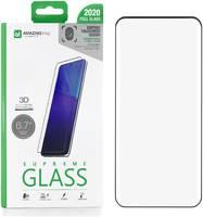 Защитное стекло для Samsung Galaxy S20 Plus Amazingthing Full Screen 3D Black 0.33mm SupremeGlass