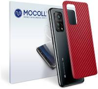 Пленка защитная MOCOLL для задней панели Vivo iQOO 5 Pro Карбон красный