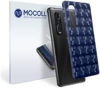 Пленка защитная MOCOLL для задней панели Vivo iQOO 5 Металлик оранжевый