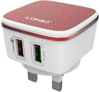 Сетевое зарядное устройство LDNIO A2405Q, 2 USB, 2,4 A,