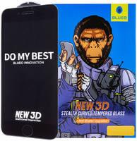 Защитное стекло Blueo 3D Stealth Curved для iPhone 7/8/SE 2020 (Black)