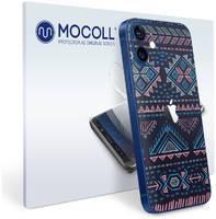 Пленка защитная MOCOLL для задней панели (Half Cover) Apple iPhone 12 Богемный узор Аргайл