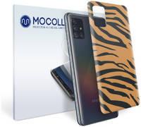 Пленка защитная MOCOLL для задней панели Samsung GALAXY Note 10 lite Бенгальский тигр