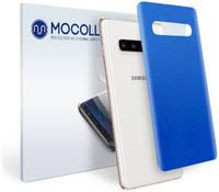 Пленка защитная MOCOLL для задней панели Samsung GALAXY S10Lite Металлик Синий