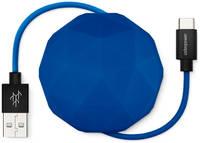 Кабель USBepower COSMO 100 см Type-C, синий / COSMOCBL