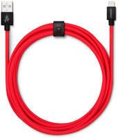 Кабель USBepower FAB 250 см Lightning, красный / FAB250EDLR