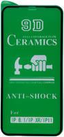 Защитная керамическая пленка OEM Full Glue для Apple iPhone 11/iPhone Xr черный