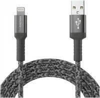 Кабель Amazingthing SupremeLink MFi Bullet Shield USB-iP Silver 1.2m 3A