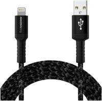 Кабель Amazingthing SupremeLink MFi Bullet Shield USB-iP Black 2.2m 3A
