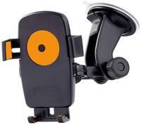 Автодержатель для смартфона Perfeo-502 до 5″/ супер присоска/+оранж. (PH-502-2)