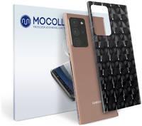 Пленка защитная MOCOLL для задней панели Samsung GALAXY S7 Кошачий глаз синий