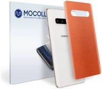 Пленка защитная MOCOLL для задней панели Samsung GALAXY J7 Prime Металлик красный